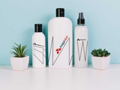 Hair Products Labels