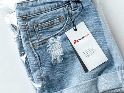 Jeans Price Label