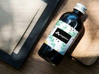 Medical bottle label