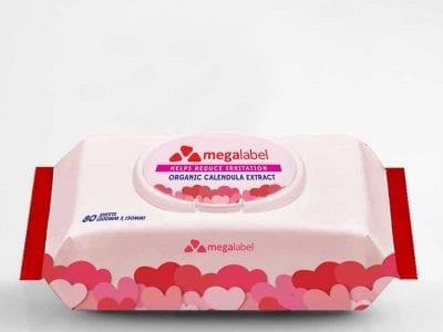 Wet Tissue Label