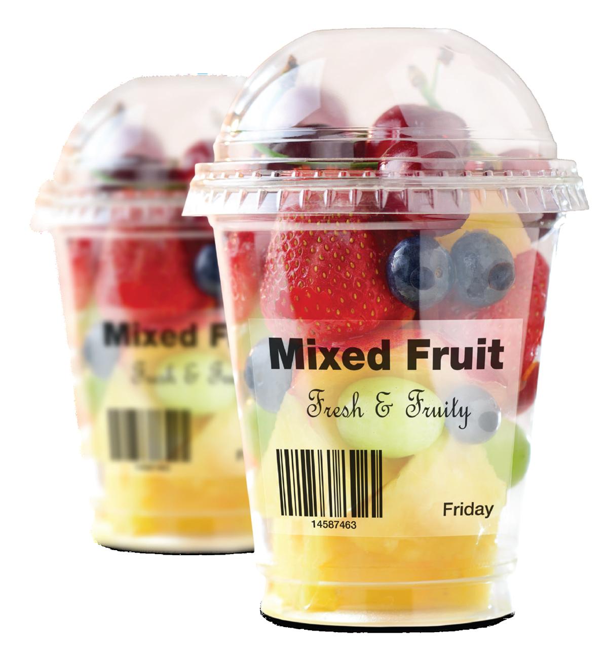 Mixed Fruit Label