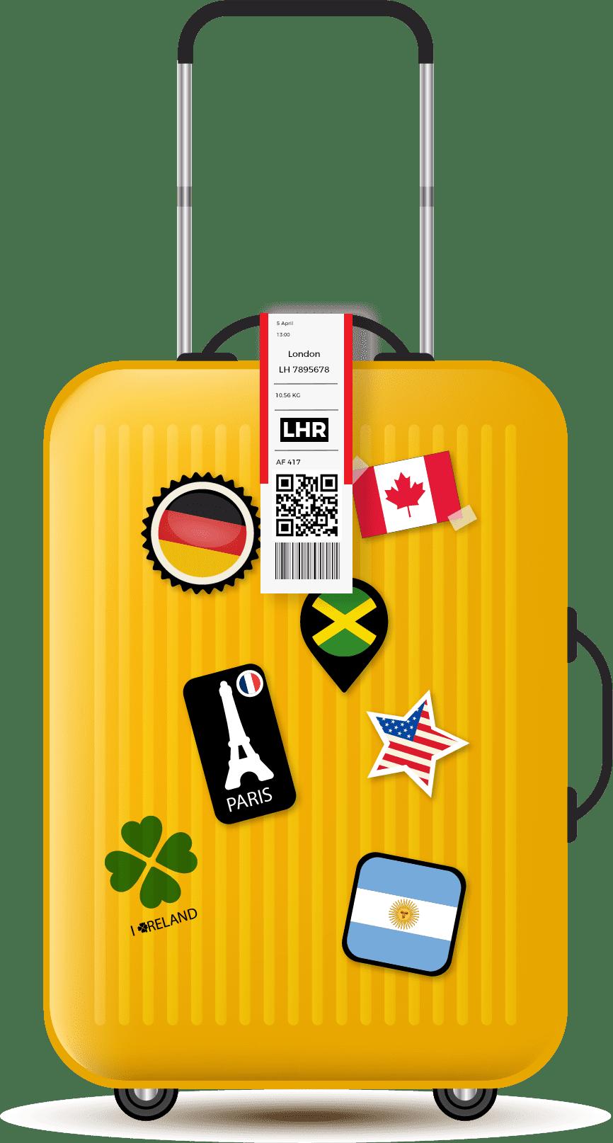 Airline Label and Sticker Printing | Label Printing | Mega Label